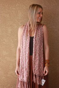 Hand Crochet Extra Long Lacy Mohair Scarf by mkervin on Etsy, $42.00