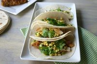 Buttermilk Fried Chicken Tacos: A twist on a picnic favorite.