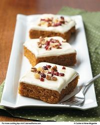 Pumpkin Bars | Cuisine at home