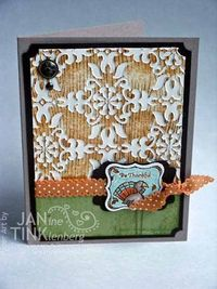 Great Background! Stampin' Up!