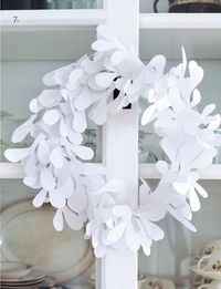 misletoe wreath