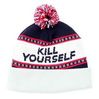 Kill Yourself Beanie Grey