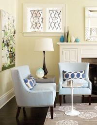 great chairs with simple nailhead trim