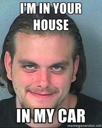 This is DUI Dave. I created this meme myself based on a certain scumbag from my town.