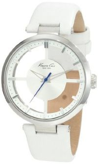 Kenneth Cole New York Women's KC2609 Transparency Classic See-Thru Dial Round Case Watch