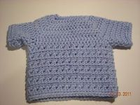 Cross Crochet Stitch Pullover free crochet pattern