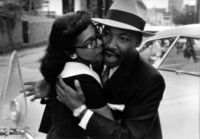 Beautiful style, beautiful photograph, beautiful people. Martin Luther King Jr, and wife Coretta Scott King