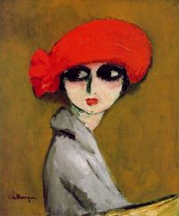 The Corn Poppy - Kees van Dongen, c. 1919