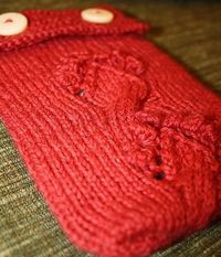Free Knitting Pattern - Kindle Love by Indie Designer Silvina L