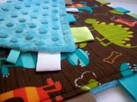 DIY: Baby Lovey Cuddle Square: With Tutorial