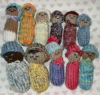 Loom Knit Baby Dolls