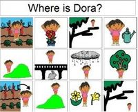 Prepositions and Vocabulary-Dora the Explorer Style-increases vocabulary and use/understanding of prepositions, from Speech Language Play.