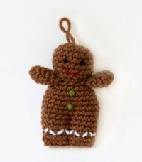 Amigurumi Gingerbread Person