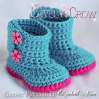 cute crochet booties