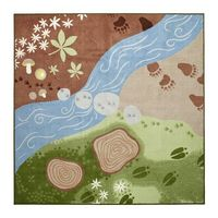 VANDRING SP�…R Rug, low pile IKEA- love this for play room!