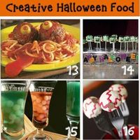 Halloween Party Food For Kids {Edible Halloween Crafts}