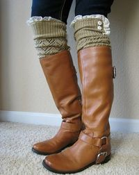 Legwarmers and boots
