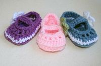 Free baby bootie crochet patterns