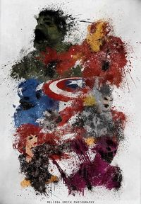 Neat. The Avengers.