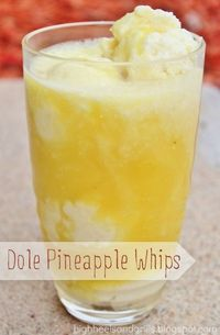 High Heels & Grills: Dole Pineapple Whips