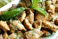 Healing Cuisine: Basil Chicken in Coconut-Curry Sauce