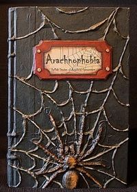 Tutorial for a Halloween altered book.