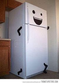 Is your fridge running? Why yes it is