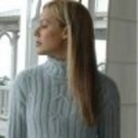 Tunic Cable Turtleneck Sweater