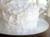 Horchata (Coconut Almond Rice Cake) - Horchata is usually the name of a number of different Latin American beverages. In Mexico the beverage traditionally contains ground almonds, rice, vanilla and cinnamon.