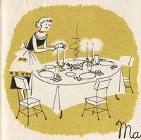 Vintage Thanksgiving Illustration