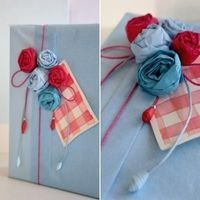 These are gorgeous! Tissue paper Roses