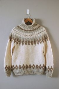 gorgeous lopi sweater via garment house
