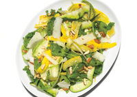 Serve a variety of salads just to balance things out. (Could also serve at an outdoor party)