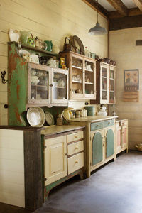 Posts Similar To Old Dressers And Mismatched Cabinets Make Up This Funky Cute Juxtapost